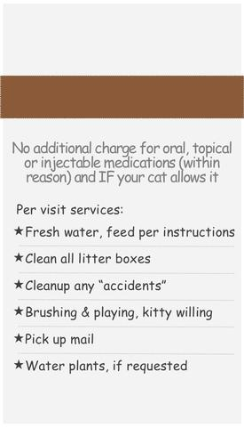 Pet Sitter, Cat Sitter - The Cat Lady LLC, Las Vegas, NV