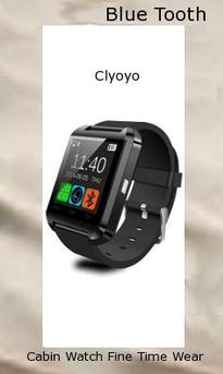 Ace Armor Shield Shatter Resistant Screen Protector for the CIYOYO U8S Waterproof Smart Watch,bluetooth watches