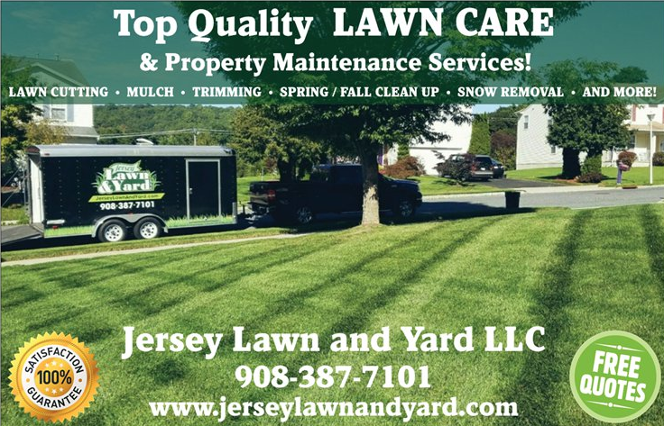 Jersey Lawn and Yard LLC, On Facebook and Yelp