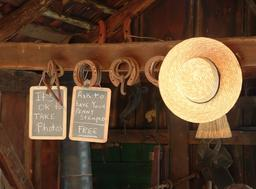 inside amish barn
