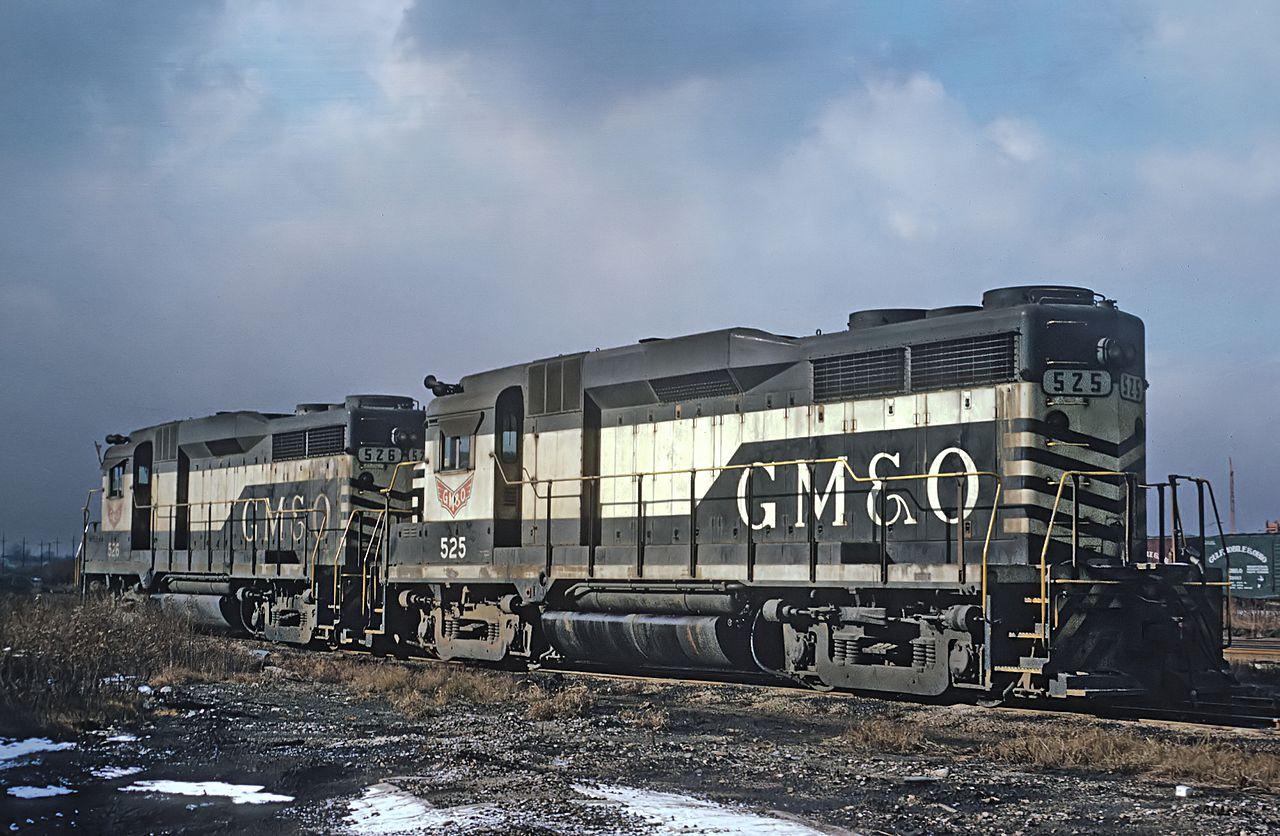 EMD GP30 Diesel-Electric Locomotive
