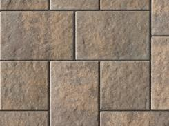 Unilock Manufactured Permeable Paver Transition in Color Sierra