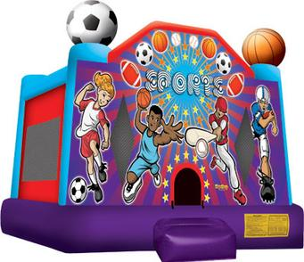 Play on Jumping, Bouncing and basketball hoop