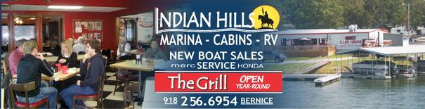 The Grill Indian Hills Bernice OK
