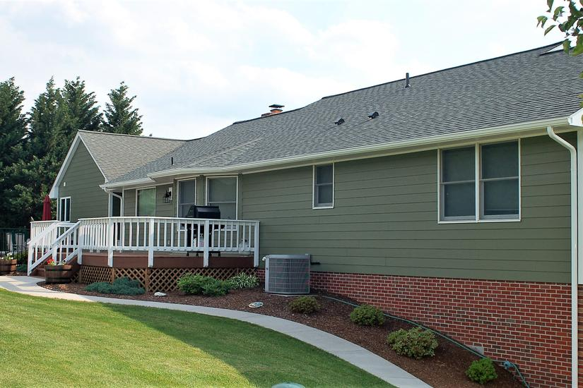 Rear View Siding and Roofing Contactors Frederick Maryland