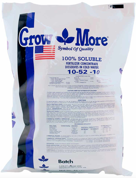 Grow More 10-52-10 Fertilizer Concentrate