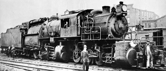 The Erie Railroad's L-1 class were the largest camelbacks built, and the only articulated examples.