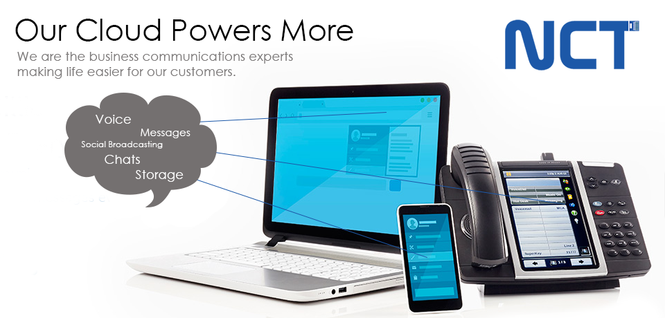 NCT Cloud Services Hosted Voice and Video Conferencing