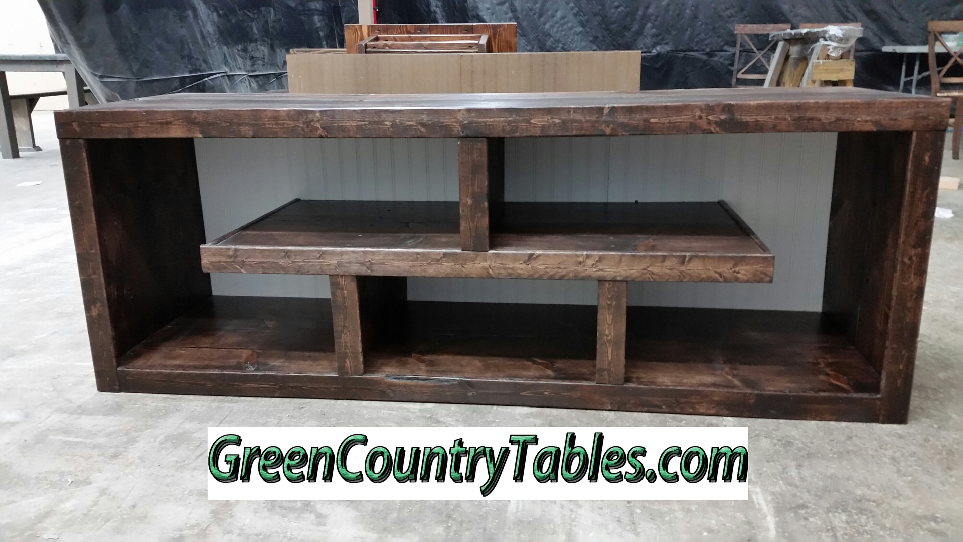 Sliding Barn Door Console Entertainment Centers Coffee Tables