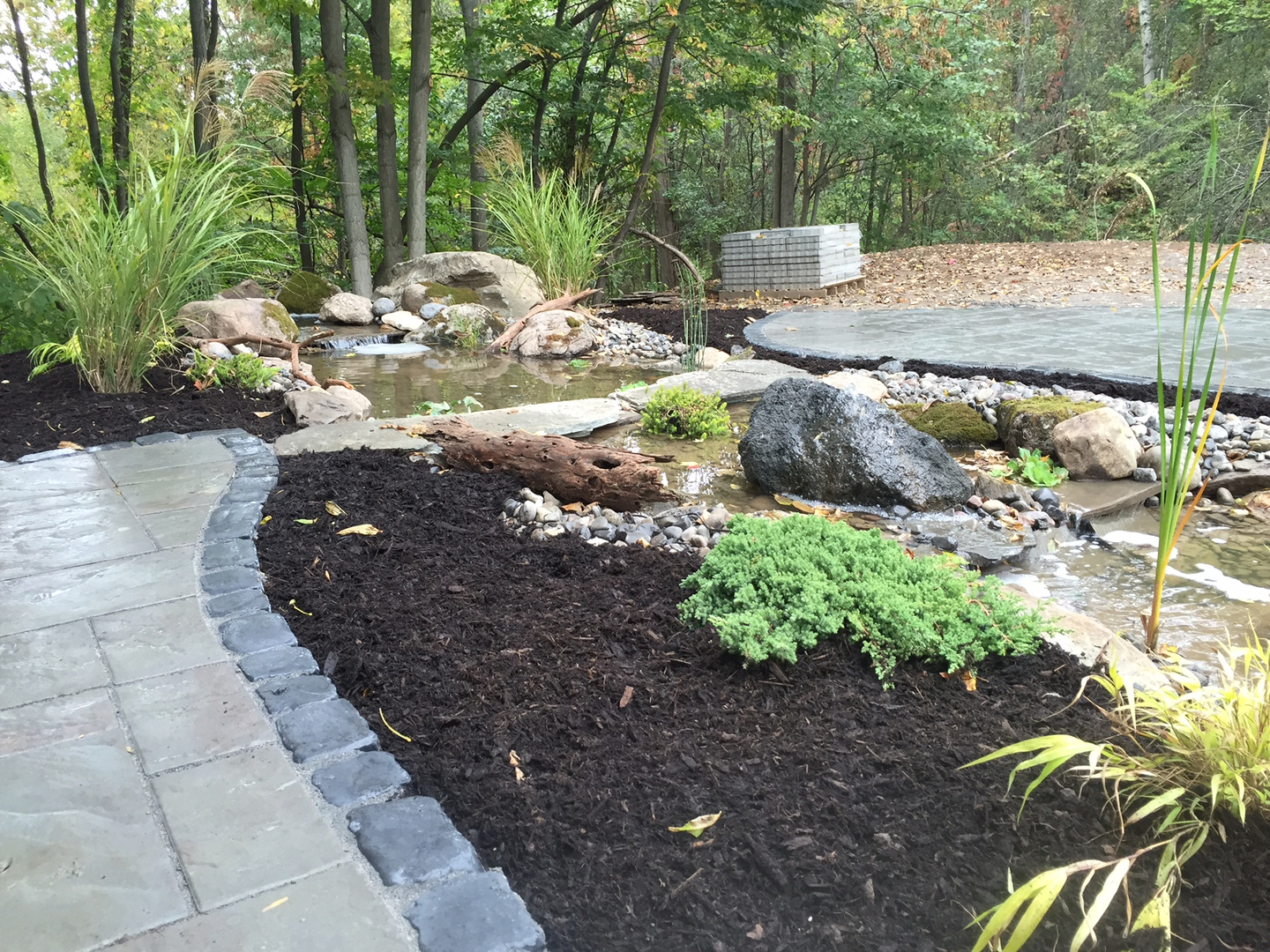 pond & water feature installations, water features and drainage