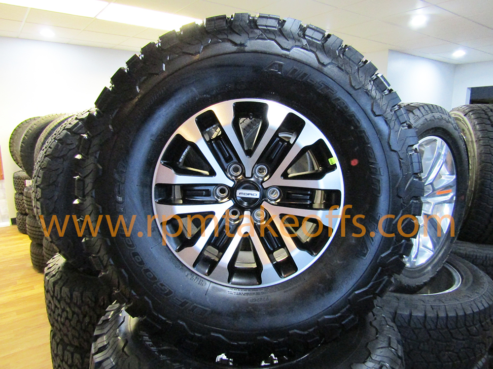 Ford 17 Raptor Wheels And Tires New