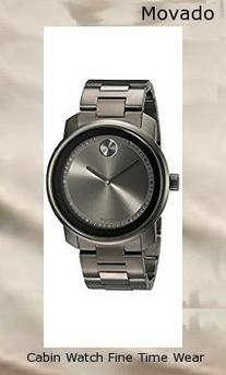 Product Specifications Watch Information Brand, Seller, or Collection Name Movado Model number 3600259 Part Number 3600259 Model Year 2011 Item Shape Round Dial window material type Mineral Display Type Analog Clasp deployant-clasp-with-push-button Case material Stainless steel Case diameter 42.5 millimeters Case Thickness 13 millimeters Band Material Stainless steel-plated Band length Men's Standard Band width 28 millimeters Band Color Grey Dial color Grey Bezel material Stainless steel Bezel function Stationary Movement Swiss quartz Water resistant depth 99 Feet