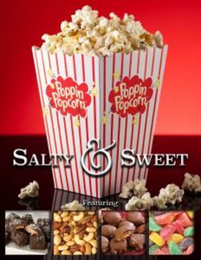 Poppin Popcorn Fundraiser Salty and Sweet Brochure