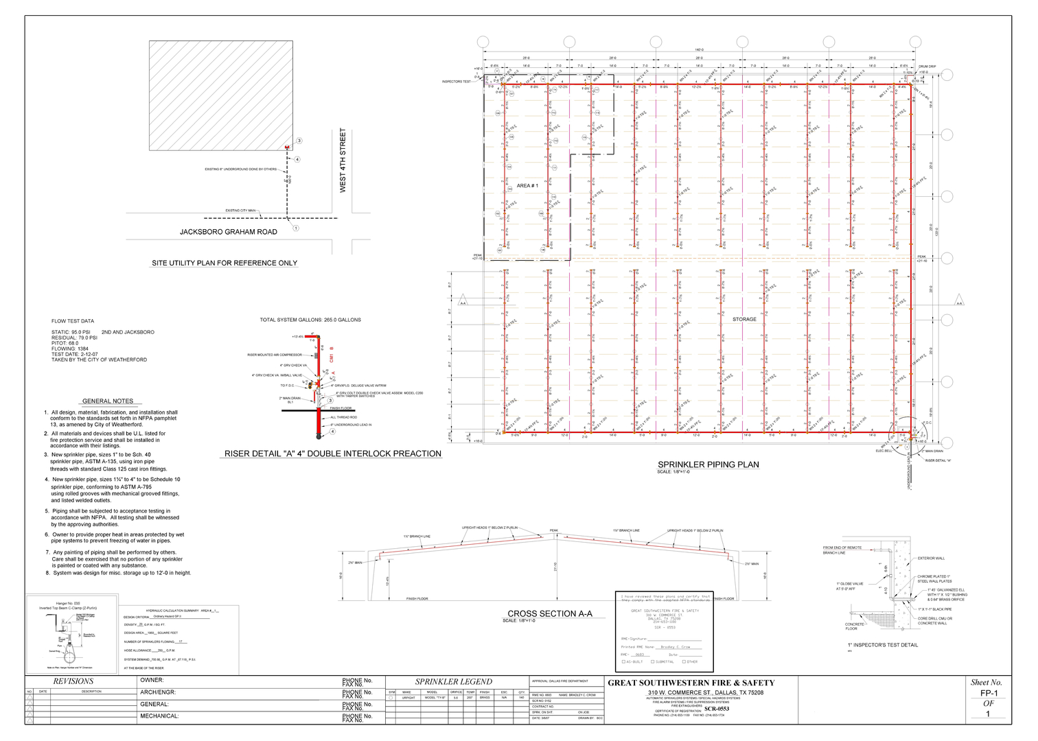 Great Southwestern Fire Safety Sprinkler Systems Piping Layout Considerations Design