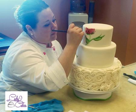 bess charles, ladycakes, cake decorator, best cake decorator, celebrity cake decorator, hand painted cake, wedding cakes, live cake demo, ladycakes of cape coral, best of cape coral, best of swfl, best bakery cape coral, celebrity cakes swfl