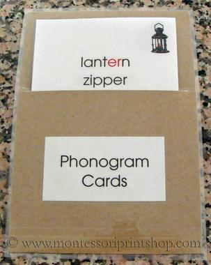 learn how to store montessori lange cards - Montessori Print Shop