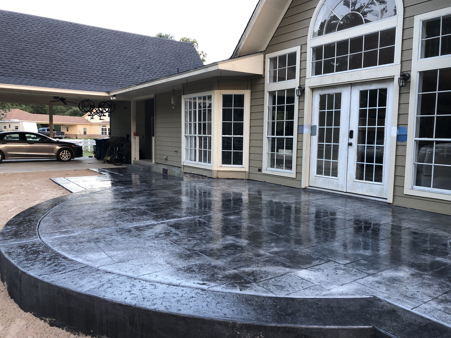What Is The Difference Between Stamped Concrete And Stained Concrete beautiful concrete of texas - stamped concrete, decorative