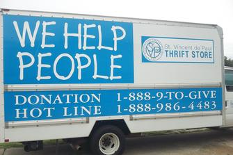 St Vincent De Paul Thrift Stores Free Donation Pick Up