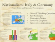 Nationalism Italy and Germany
