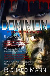 Alien Book, Vampire Book, Sci-fi book, Dominion First blood