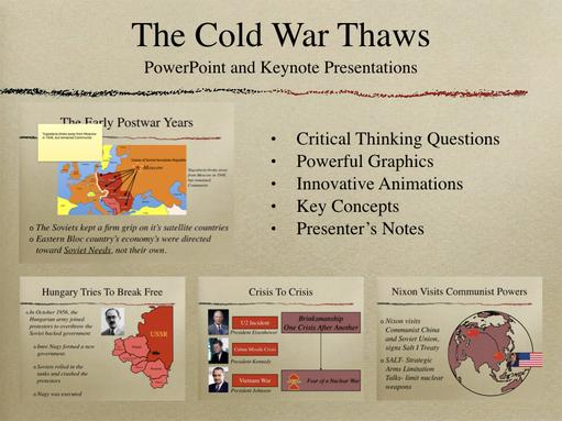 The Cold War Thaws PowerPoint