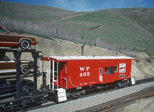 A Western Pacific caboose.