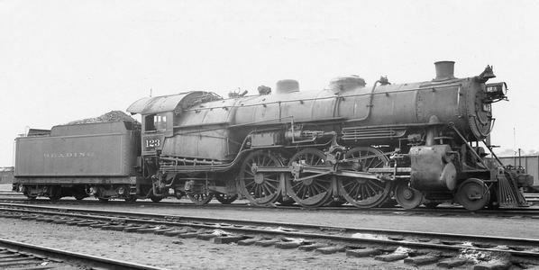 Pennsylvania-Reading Seashore Lines 4-6-2 No. 123.