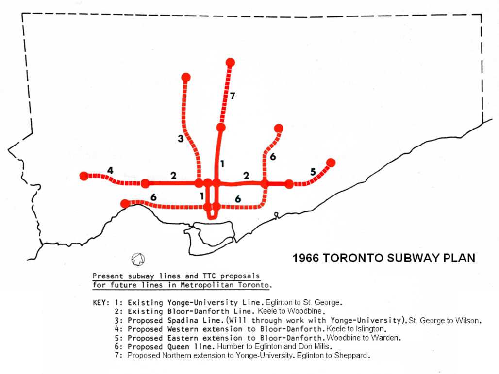25 Year Masterplanning Ttc 1950s 60s Network 2011 Go 2020 Tt C Block Diagram To Me The Most Important Projects By Far Are Relief Line And Rer These Two Have Survive Inevitable Doug Ford Chopping Hopefully