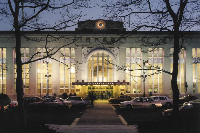 Newark's Pennsylvania Railroad Station.