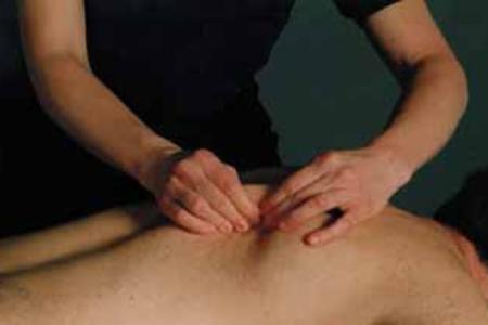 Therapeutic massage pain relief