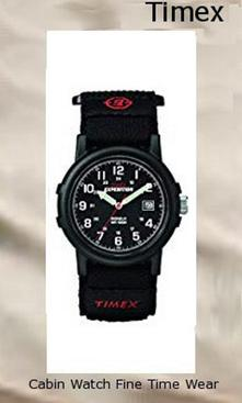 Timex Men's T40011 Expedition Camper Black Fast Wrap Strap Watch,timex digital watch