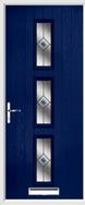 3 Square Composite Door fusion glass