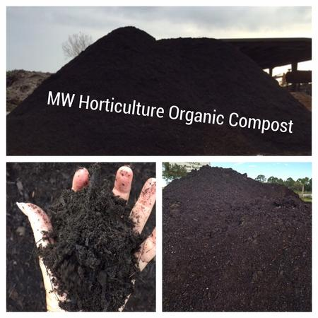 MW Horticulture Organic Compost Composted TopSoil