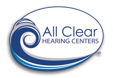 All Clear Hearing Centers logo.