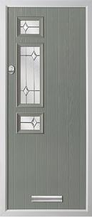 Trade Windows 4u 4 Square Twin Rebate Composite Door