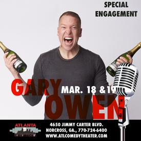 gary owen atlanta comedy punchline comedy laughing skull uptown comedy
