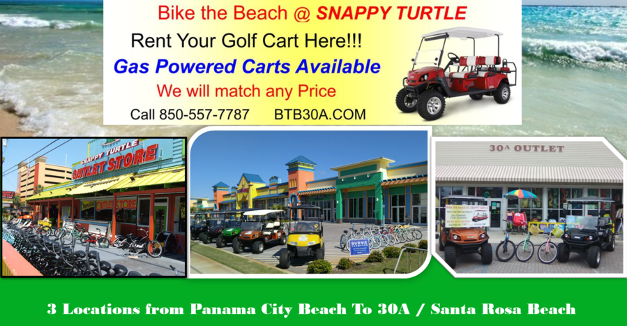 Golf Carts - 30A - Santa Rosa Beach