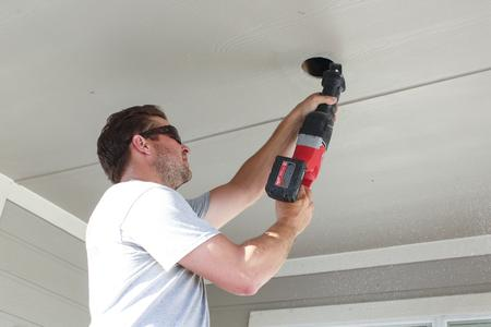 Austin Outdoor Ceiling Fan Install - Porch Fan Install - Patio Fan Install - Outdoor Fan Replacement - Porch Fan Replacement - Patio Fan Replacement - Austin Ceiling Fan - Best Ceiling Fan Install - Austin Electrician - Top Austin Electrician