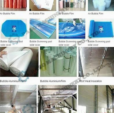 laminated bubble film construction appliation