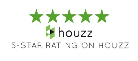 5 star review rating on houzz