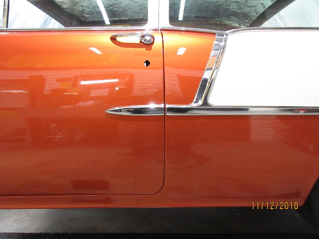 1955 Chevy 210 Two Door Sedan