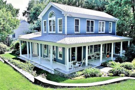 Hardie Siding Boothbay Blue