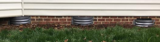 foundation vent wells