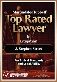 J Stephen Street Top Rated in Litigation