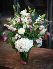 NB-MD16-9 Stock, Lilies, Hydrangea, and Roses