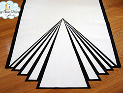 art deco aisle runners