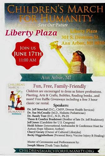 Ann Arbor, Michigan June 17th from about 10am to 2pm