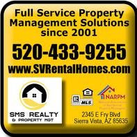 Real Estate Press, Southern Arizona, SMS Realty & Property Mgt