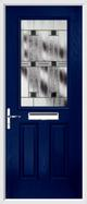 2 Panel 1 Square Composite Door aspen glass