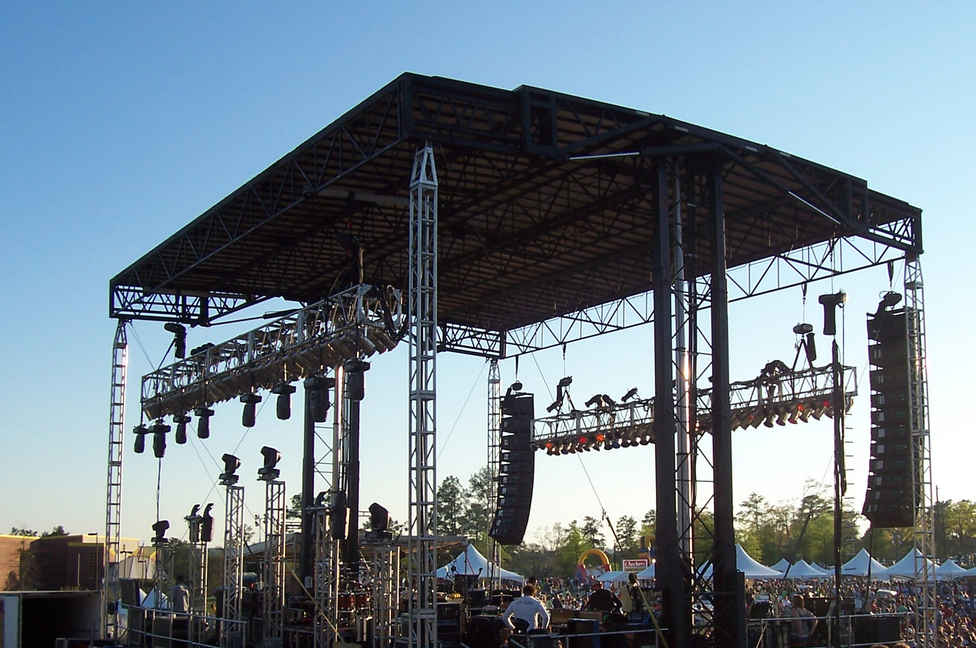 VF Titan 50 Mobile Stage Systems